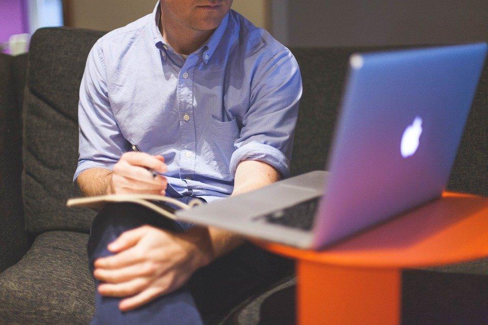 Description: Startup, Business, Businessman, Notebook, Laptop